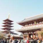 外国人のお友達と東京観光「浅草」で着物を着てみる。