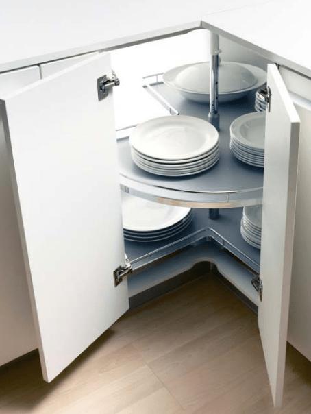 Resultado de imagen de armarios rinconeros de cocina