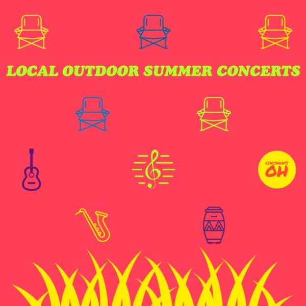 2020 Summer Outdoor Concerts in Cincinnati