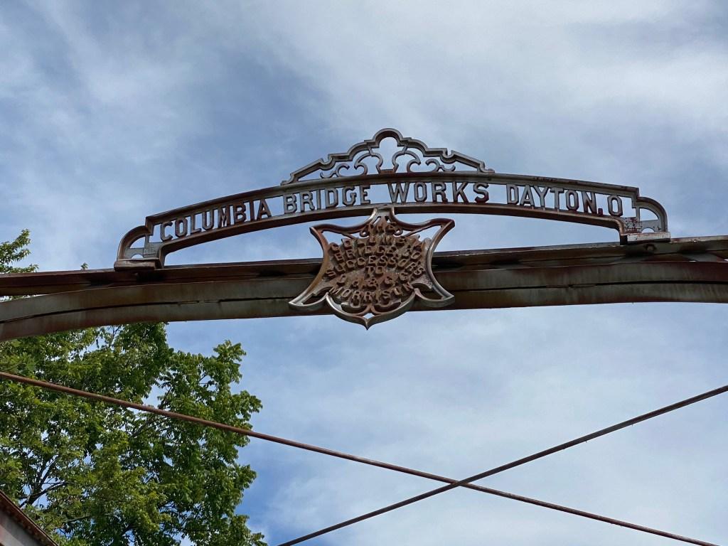 Columbia Bridge Works Sign Nate Workman Sibcy Cline Realtors
