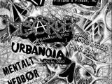 Riistetyt, Disårder, Urbanoia, Mentalt Nedbør, punk, hardcore, barrikaden