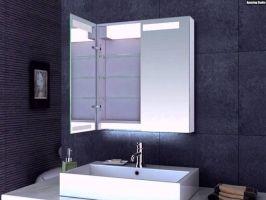 Spiegelschrank Fur Das Badezimmer Mit Led Beleuchtung ...