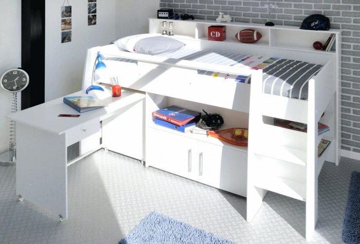 Bett Schreibtisch Kombination 2021