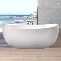 Freistehende Badewanne Mit Integrierter Armatur Haus ...