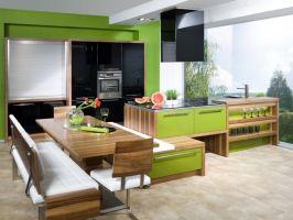 Küche Mit Integriertem Esstisch   Haus Design Ideen