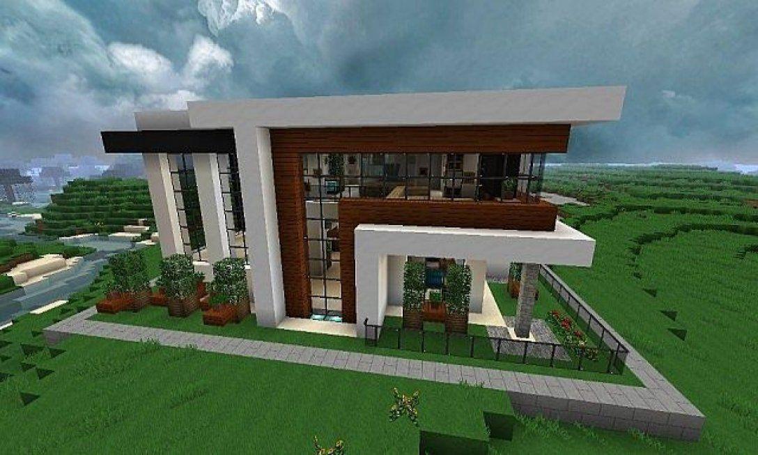 Minecraft Small Modern House Blueprints — Modern House ...