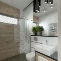 Neu Moderne Badezimmer Klein Muster Farbe Der Malerei Bad Dusche von Badezimmer Klein Modern ...
