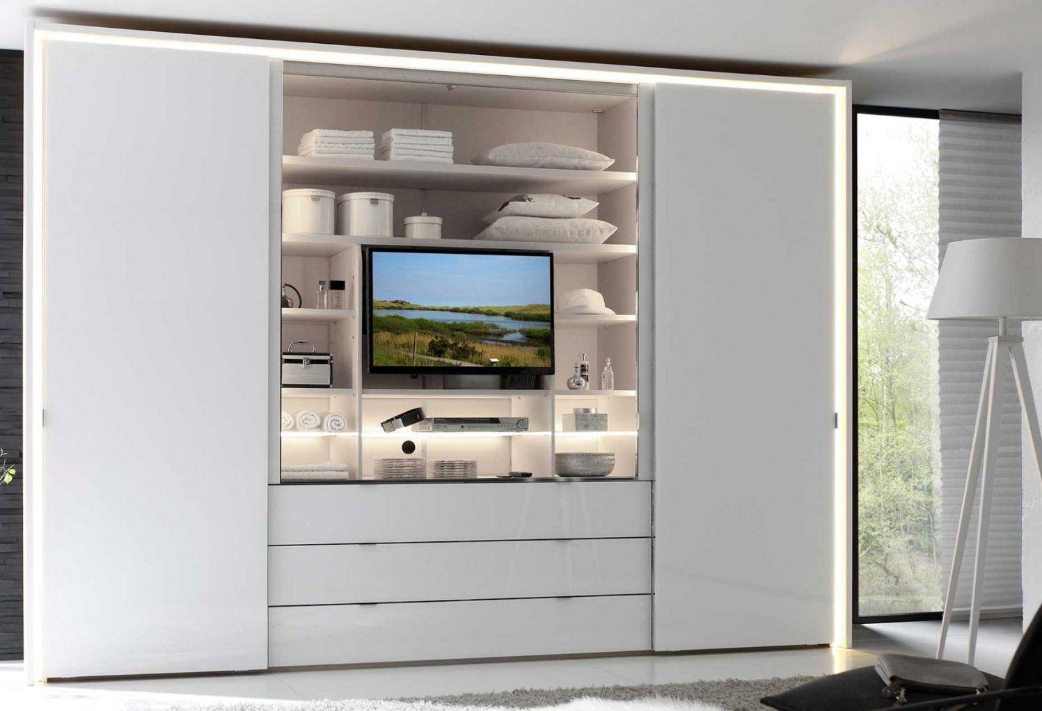 Oben Schlafzimmerschrank Mit Tv Fach Zum Schrank Mit Tv