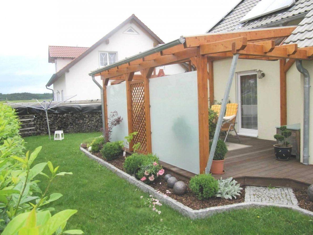 Terrassenuberdachung Selber Bauen Holz