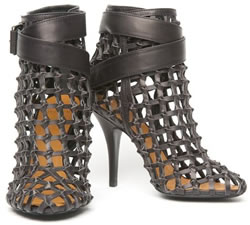 Givenchy Ankle Wrap Cage Boots