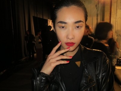 Nails by Sophy Robson at Rihanna for River Island fashion show