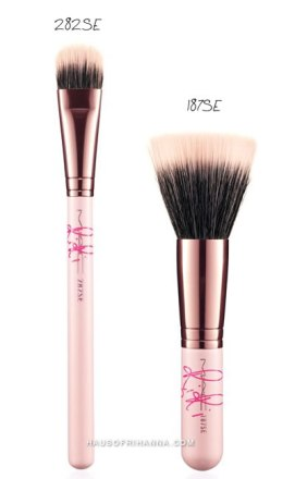 RiRi ♥ MAC makeup brushes