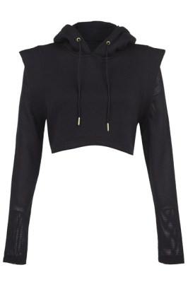 Rihanna for River Island Fall/Winter 2013 cropped hoodie
