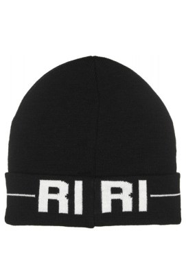 Rihanna for River Island black beanie
