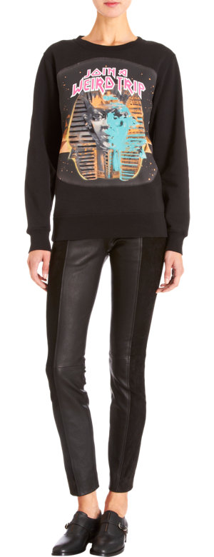 Balenciaga Join a Weird Trip sphinx sweatshirt