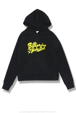Billionaire Girls Club Script Chaser hoodie in black