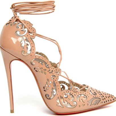 Christian Louboutin Impera pumps in patent nude
