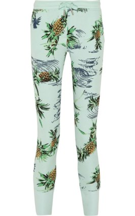 Zoe Karssen Paradise tropical print sweatpants