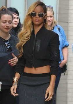 Rihanna wearing Lynn Ban earrings