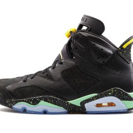 Air Jordan Retro VI Brazil World Cup sneakers