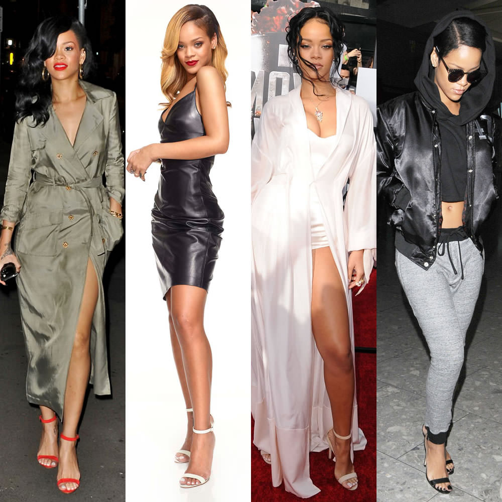 fdcd3dac8baaf Rihanna loves Manolo Blahnik's Chaos ankle-strap sandals! In fact, she was  one of the first celebrities to get her hands on the shoes, several months  before ...
