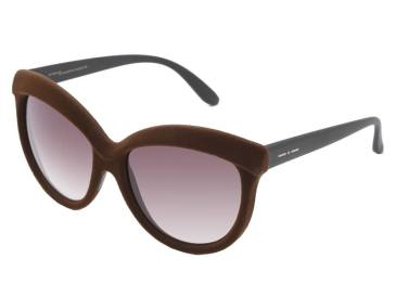 Italia Independent 0092V brown velvet sunglasses
