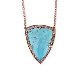 Jacquie Aiche freeform turquoise necklace
