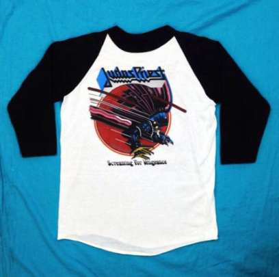 Judas Priest vintage rock tee