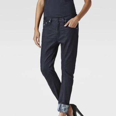 G-Star RAW for the Oceans x Pharrell Williams tapered jeans as seen on Rihanna