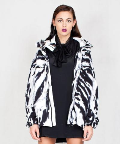 This Is A Love Song Deacon tie dye coat