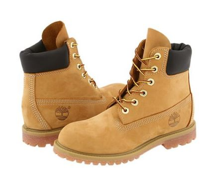 Timberland premium boots in wheat nubuck as seen on Rihanna