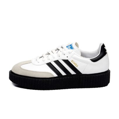 Mr Completely Creepy Samba shoes in white as seen on Rihanna