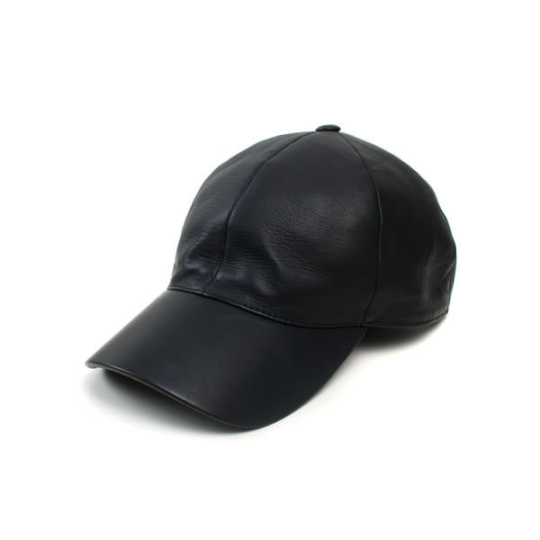 Vianel leather baseball cap as seen on Rihanna
