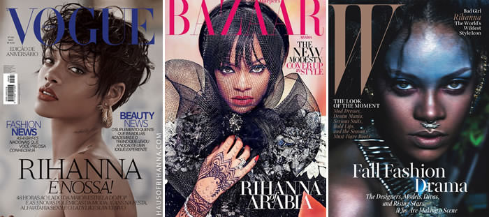 Rihanna's best magazine covers of 2014