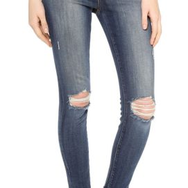 J Brand 835 cropped skinny jeans in Misfit as seen on Rihanna