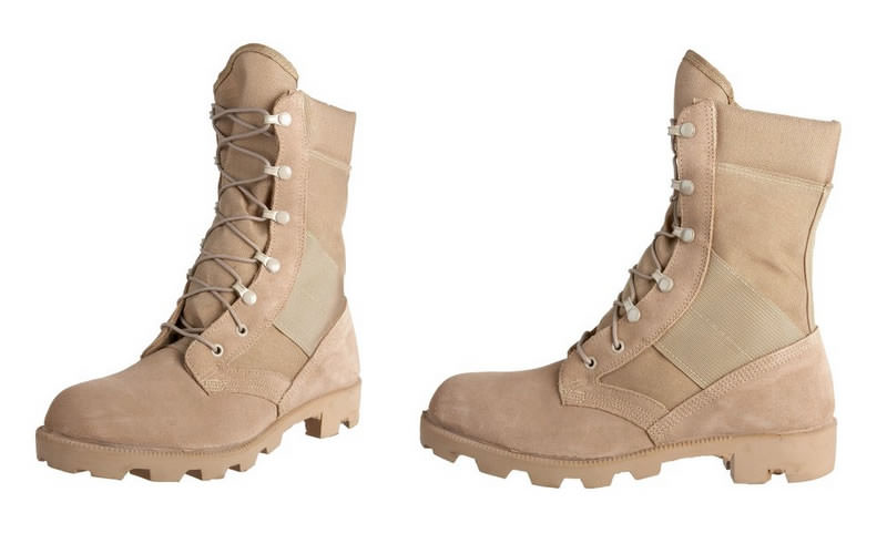 Wellco army jungle combat boots with panama sole