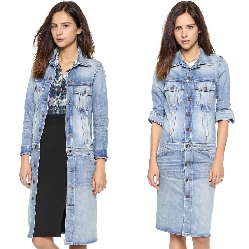 6397 Cowboy denim coat as seen on Rihanna