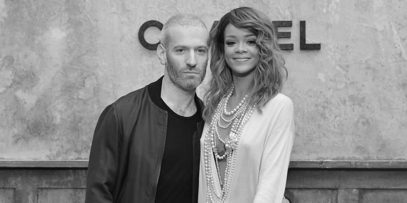 Rihanna and stylist Mel Ottenberg