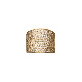 Jennifer Fisher cigar band ring with pavé diamonds