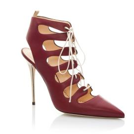 Manolo Blahnik Latta lace-up pumps as seen on Rihanna