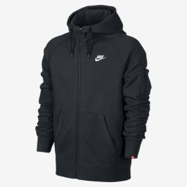 Nike AW77 fleece full-zip hoodie as seen on Rihanna