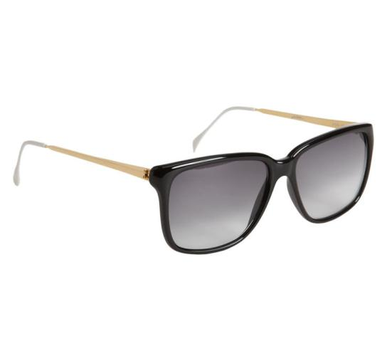 Sheriff & Cherry black and gold sunglasses as seen on Rihanna