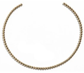 Lady Grey pearled collar choker in gold as seen on Rihanna