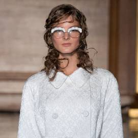 Simone Rocha Spring 2015 embellished eye glasses as seen on Rihanna