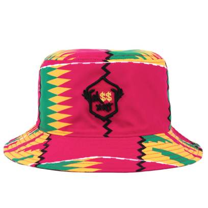 Melissa Forde for Wrking Title M$$xWT hat rasta print bucket hat as seen on Rihanna