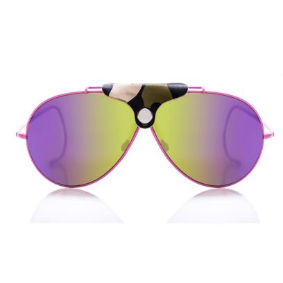 RVS by V Playa aviator sunglasses in Gypsy Pink as seen on Rihanna