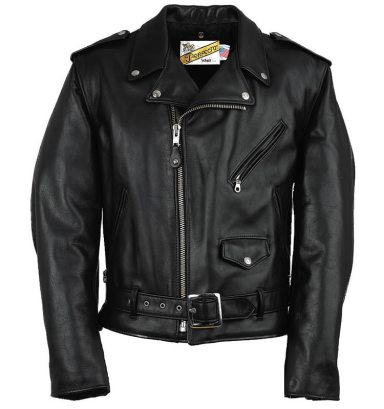 Schott NYC Classic Perfecto motorcycle jacket as seen on Rihanna