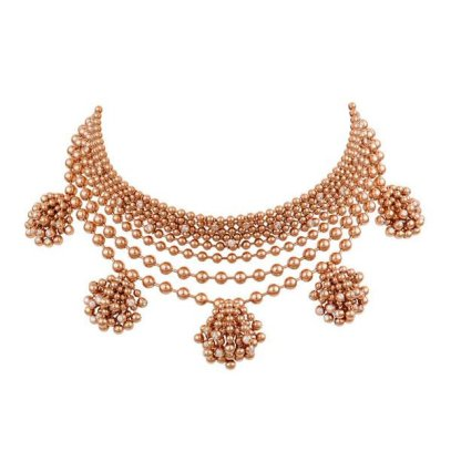 Cartier Paris Nouvelle Vague rose gold and diamond necklace as seen on Rihanna