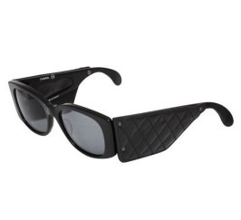 Chanel vintage quilted leather sunglasses as seen on Rihanna