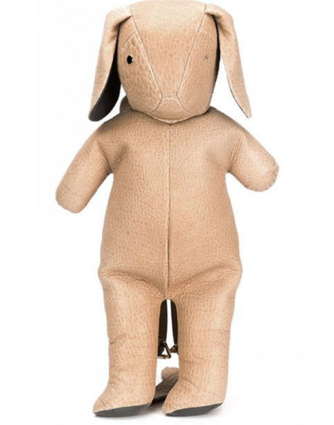 Dominic Louis x Mandy Coon leather bunny backpack as seen on Rihanna